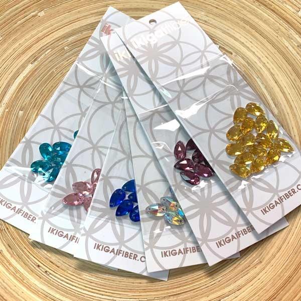 Ikigaifiber Ikigaifiber Sew-On Crystals