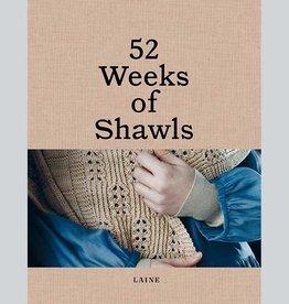 (Pre-order) 52 Weeks of Shawls