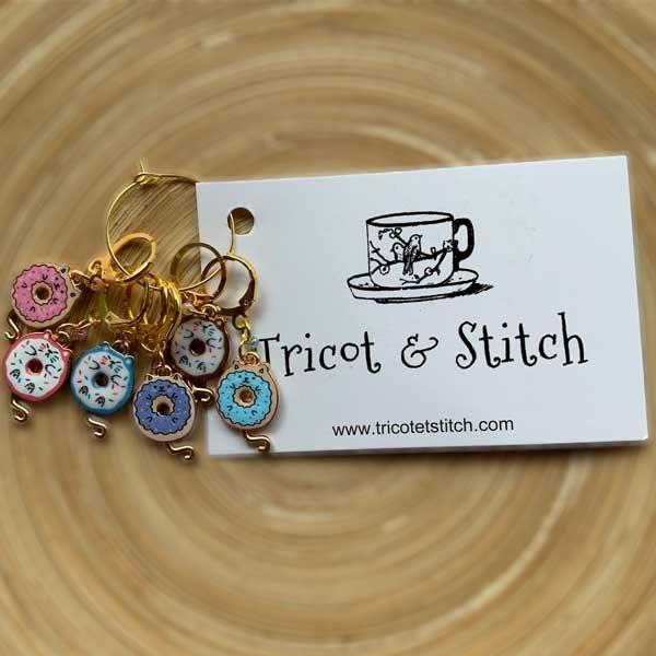 Tricot & Stitch Tricot & Stitch Chatbeignet Markers Set