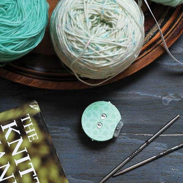 Knitter's Pride Mindful Collection Teal Row Counter
