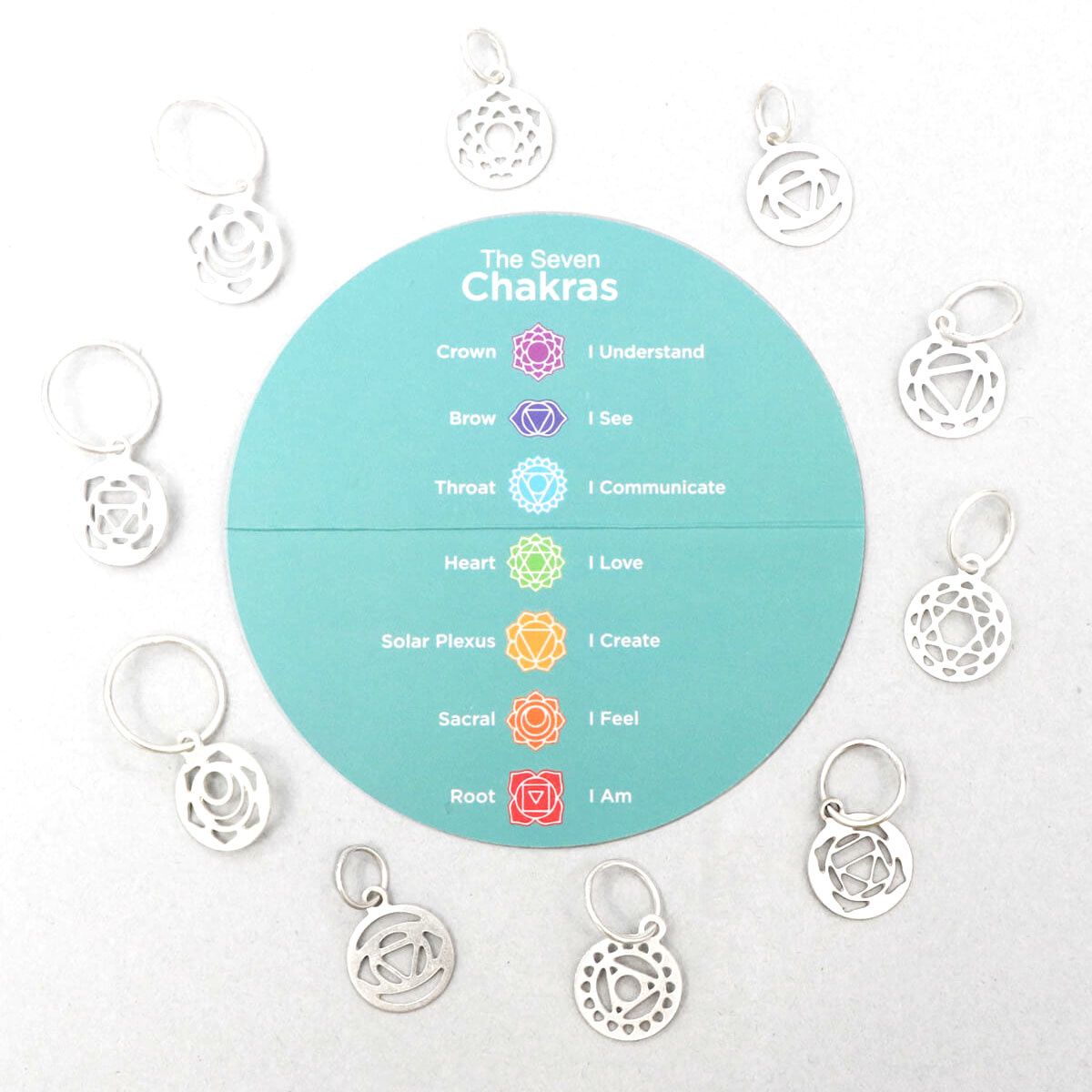 Knitter's Pride Mindful Collection Chakra Stitch Markers