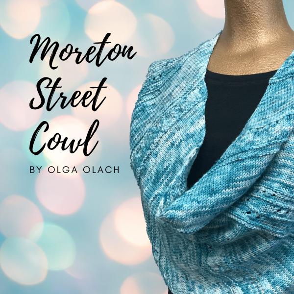 River Colors Studio Moreton Street Cowl Knit Kit