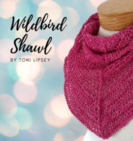 River Colors Studio Wildbird Shawl Crochet Kit