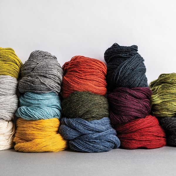 Blue Sky Fibers 14 Color Woolstok Light Yarn Bundle