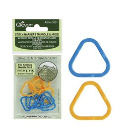 Clover 3151  Large Triangle Stitch Markers