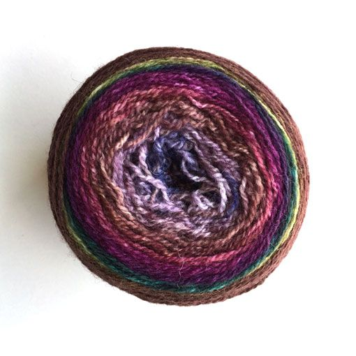 Freia Handpaint Yarns Freia Handpaint Yarns Flux Self-Striping Lace