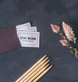 Twig & Horn Twig & Horn Stay Warm Woven Labels