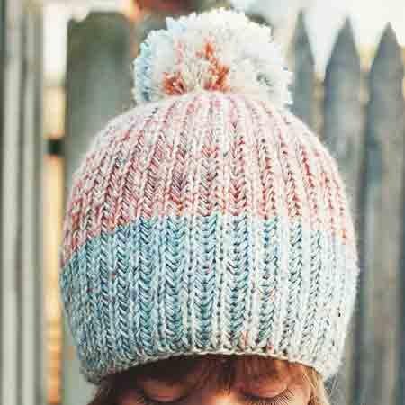 Drea Renee Knits Vanilla Fog Hat