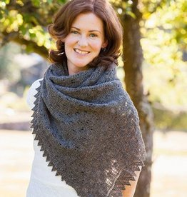 Churchmouse Fir Cone Lace Shawl & Scarf