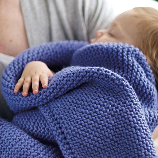 Churchmouse Churchmouse Picot-Edge Baby Blanket & Washcloth