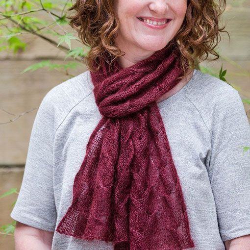 Churchmouse Churchmouse Spin-Stitch Scarf & Poncho