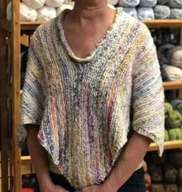 River Colors Studio Afterthought Neckline Poncho Pattern
