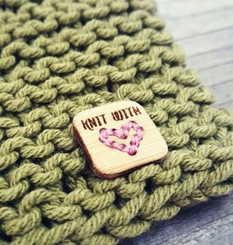 Katrinkles Knit With Love Stitchable Heart Tags