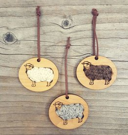 Katrinkles Stitchable Sheep Ornament