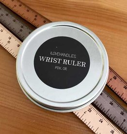 Crossover Industries Leather Wrist Ruler