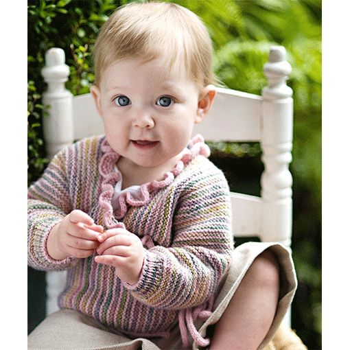 Churchmouse Churchmouse Baby Wrap Sweater
