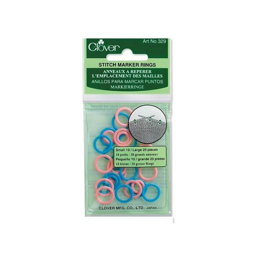 Clover Clover 329 Stitch Ring Markers