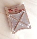 Akerworks Inc. Akerworks Inc. Swatch Gauge