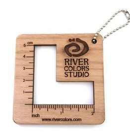 Katrinkles River Colors Gauge Ruler