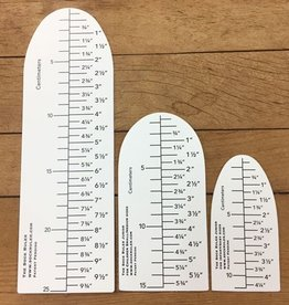 The Sock Ruler Sock Ruler Combination
