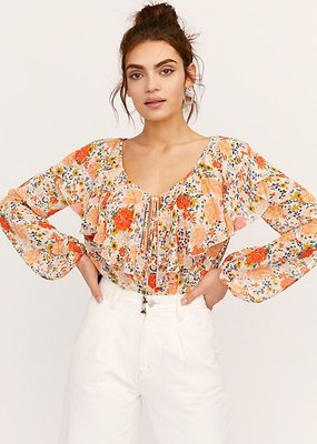 Free People Say It To Me Bodysuit