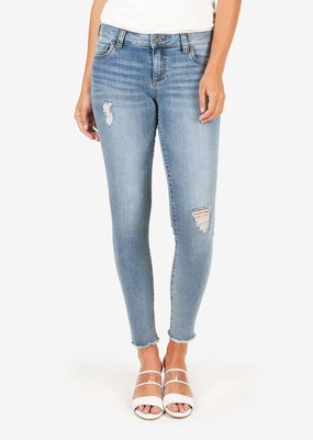 Kut Connie Ankle Skinny Mid Rise Denim