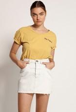 One Teaspoon 2020 Mini High Waist Denim Skirt