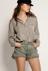 One Teaspoon Le Wolves Denim Short
