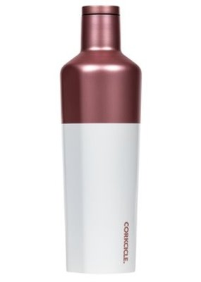 Corkcicle Colour Block Modern Rose 16oz Canteen