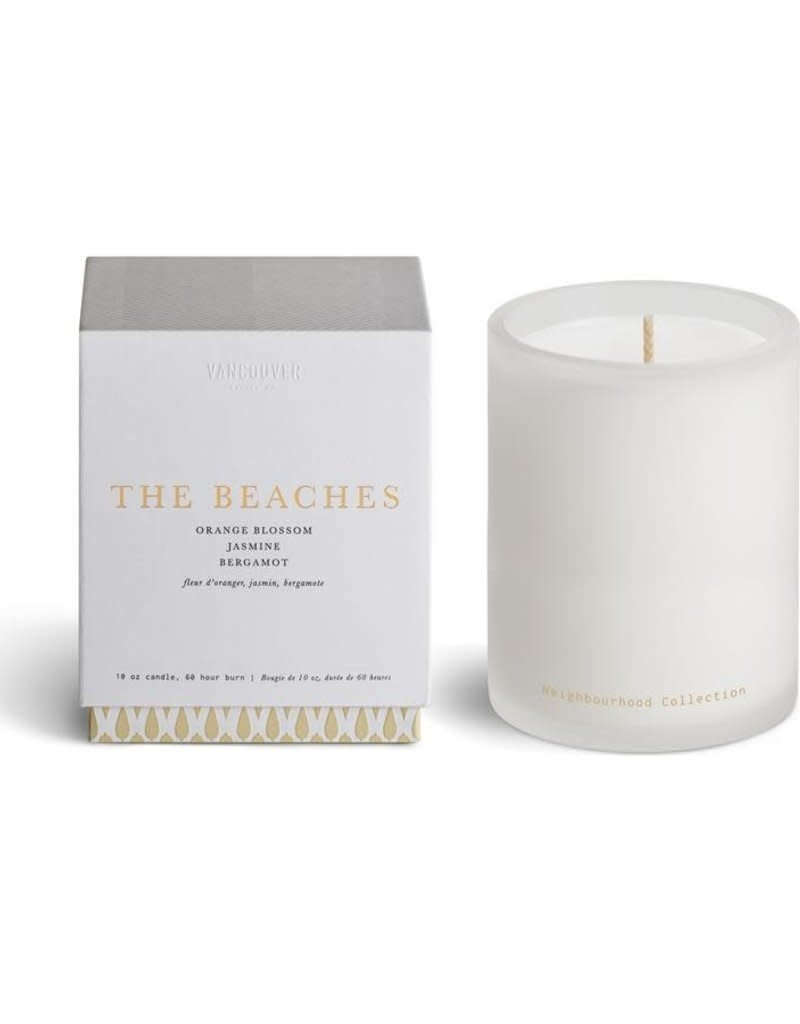 Vancouver Candle The Beaches Signature Boxed Candle