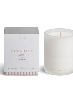 Vancouver Candle Rosedale Signature Boxed Candle