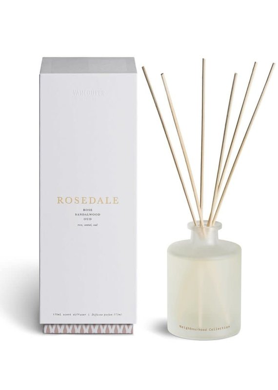 Vancouver Candle Rosedale Diffuser