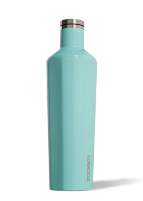 Corkcicle Gloss Turquoise 16oz Canteen