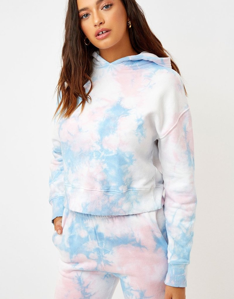 Frankies Bikinis Burl Tie Dye Sweater