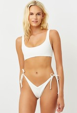 Frankies Bikinis Connor Ribbed Top