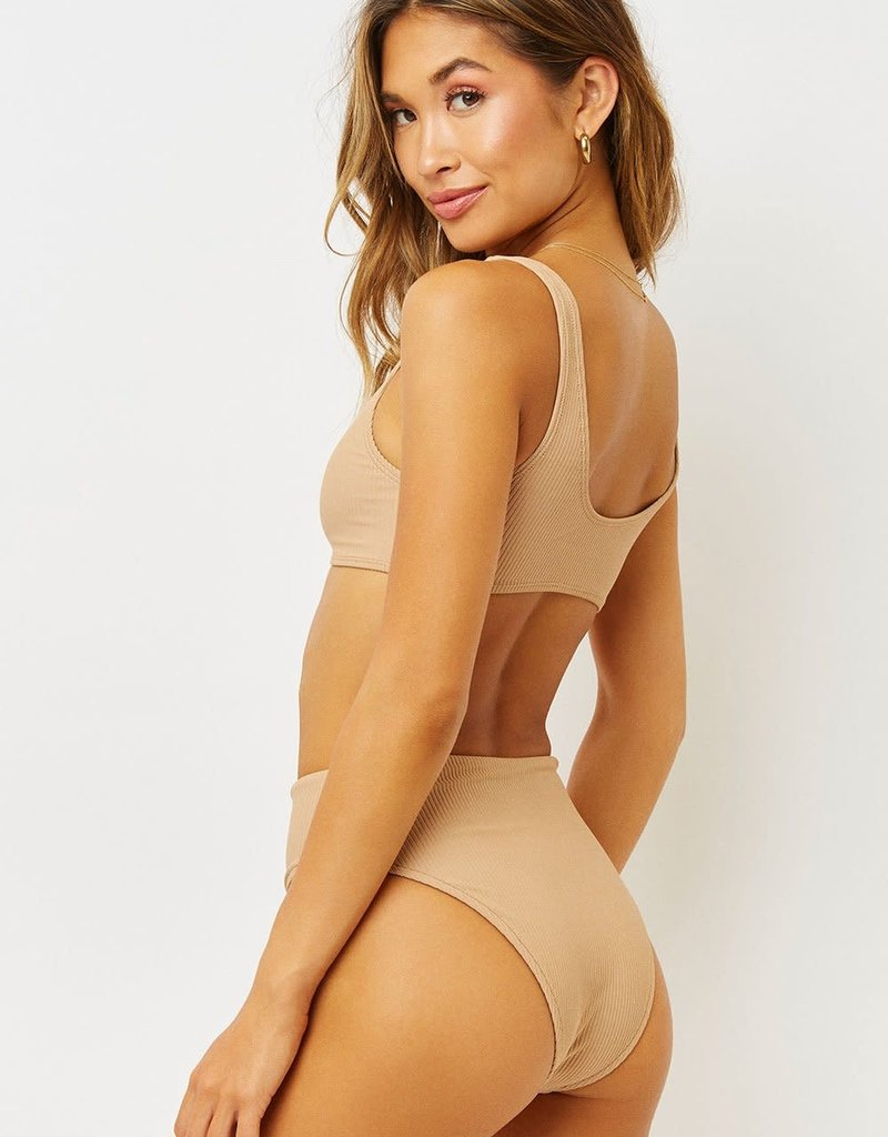Frankies Bikinis Jenna Ribbed Bottom