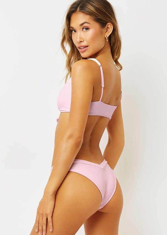 Frankies Bikinis Austin Ribbed Bottoms