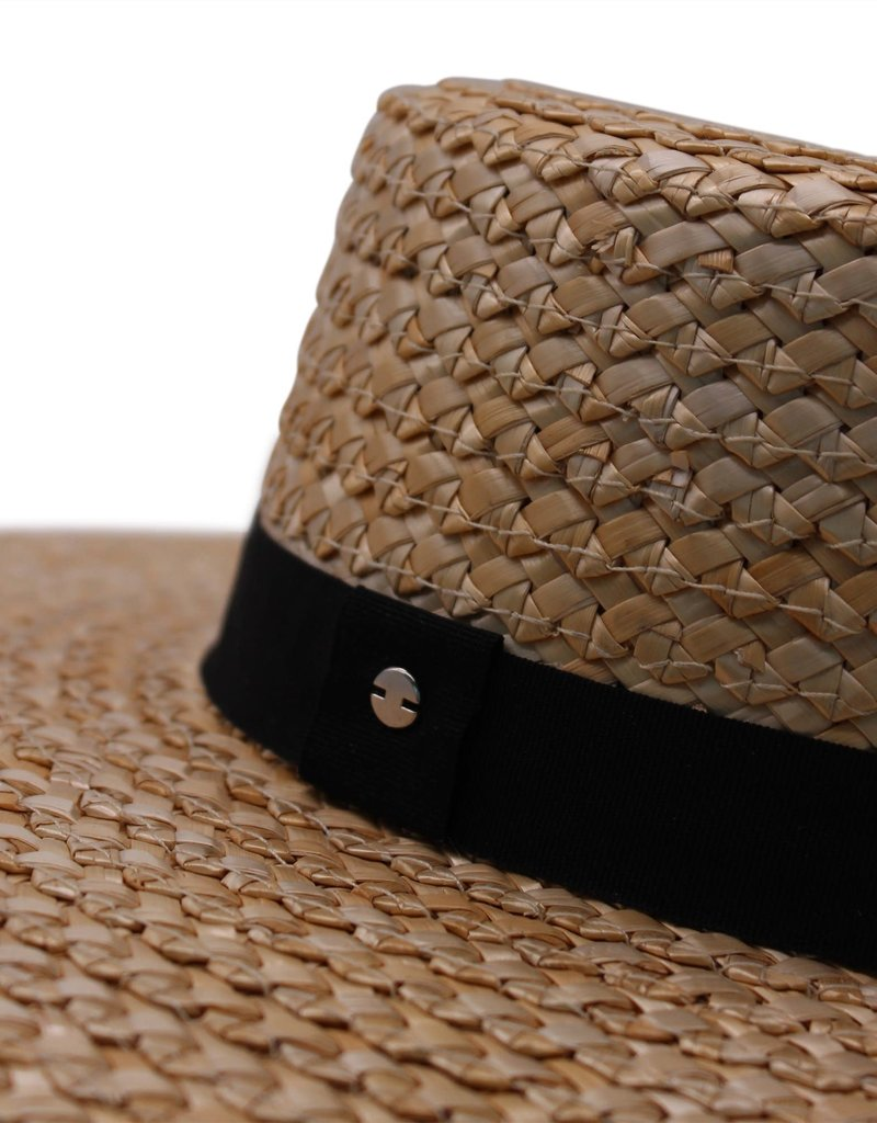 Ace Of Something Lerici Straw Boater Hat