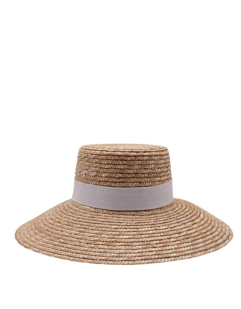 Ace Of Something Calvi Straw Boater Hat