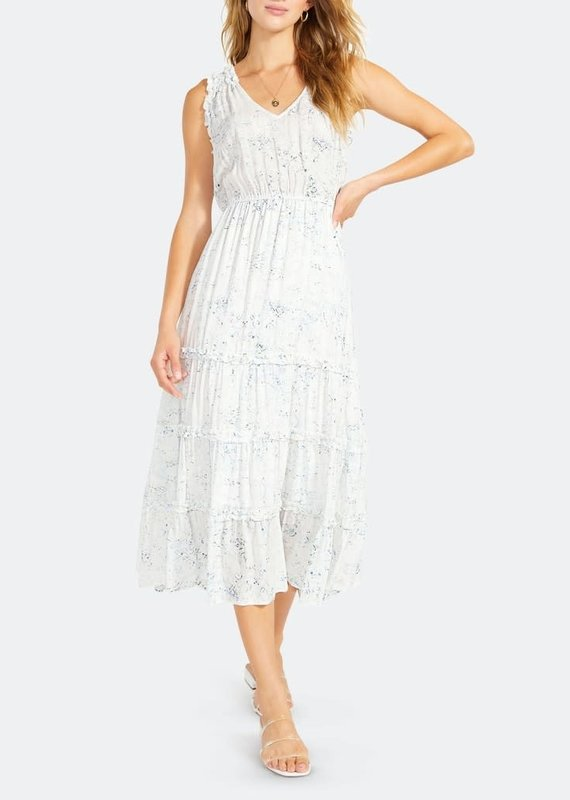 BB Dakota Crystal Clear Midi Dress