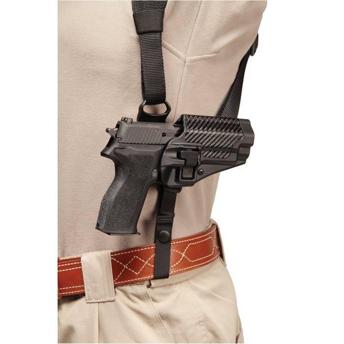 Blackhawk Blackhawk! Shoulder Harness with Platform - for SERPA Holster Black