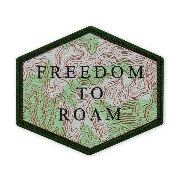 Prometheus Design Werx Prometheus Design Werx Topographic Freedom to Roam LTD ED Morale Patch