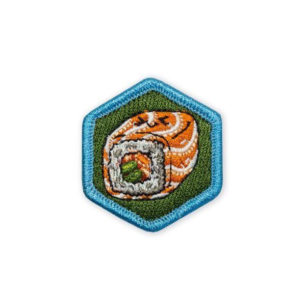 Prometheus Design Werx Prometheus Design Werx Food Series Sushi Smoked Salmon Maki Morale Patch