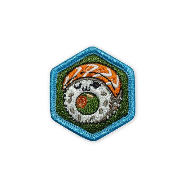 Prometheus Design Werx Prometheus Design Werx Food Series Sushi Salmon Roll Morale Patch