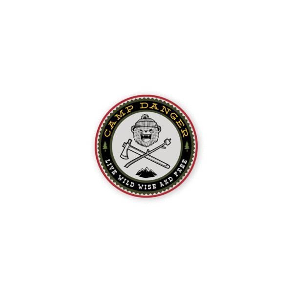 Prometheus Design Werx Prometheus Design Werx DRB Camp Danger Mini-Sticker