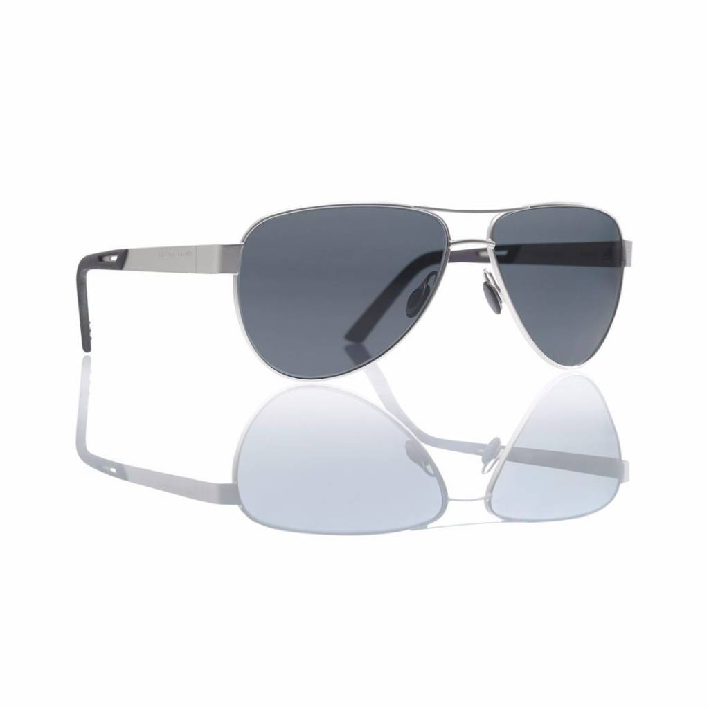 Revision Military Revision Military Alphawing Sport Sunglasses* Stainless Steel Gradient Grey