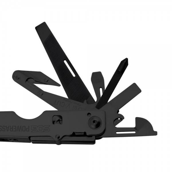 SOG SOG Power Assist Multi-Tool and Nylon Sheath (Black Oxide)