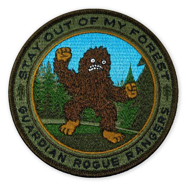 Prometheus Design Werx Prometheus Design Werx GRR Sasquatch Stay Out of My Forest 2018 LTD ED Morale Patch