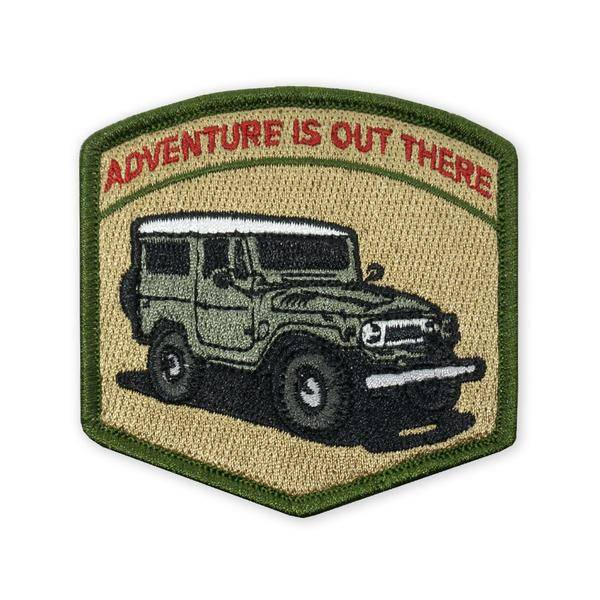 Prometheus Design Werx Prometheus Design Werx PDW Adventure is Out There FJ40 LTD ED Morale Patch