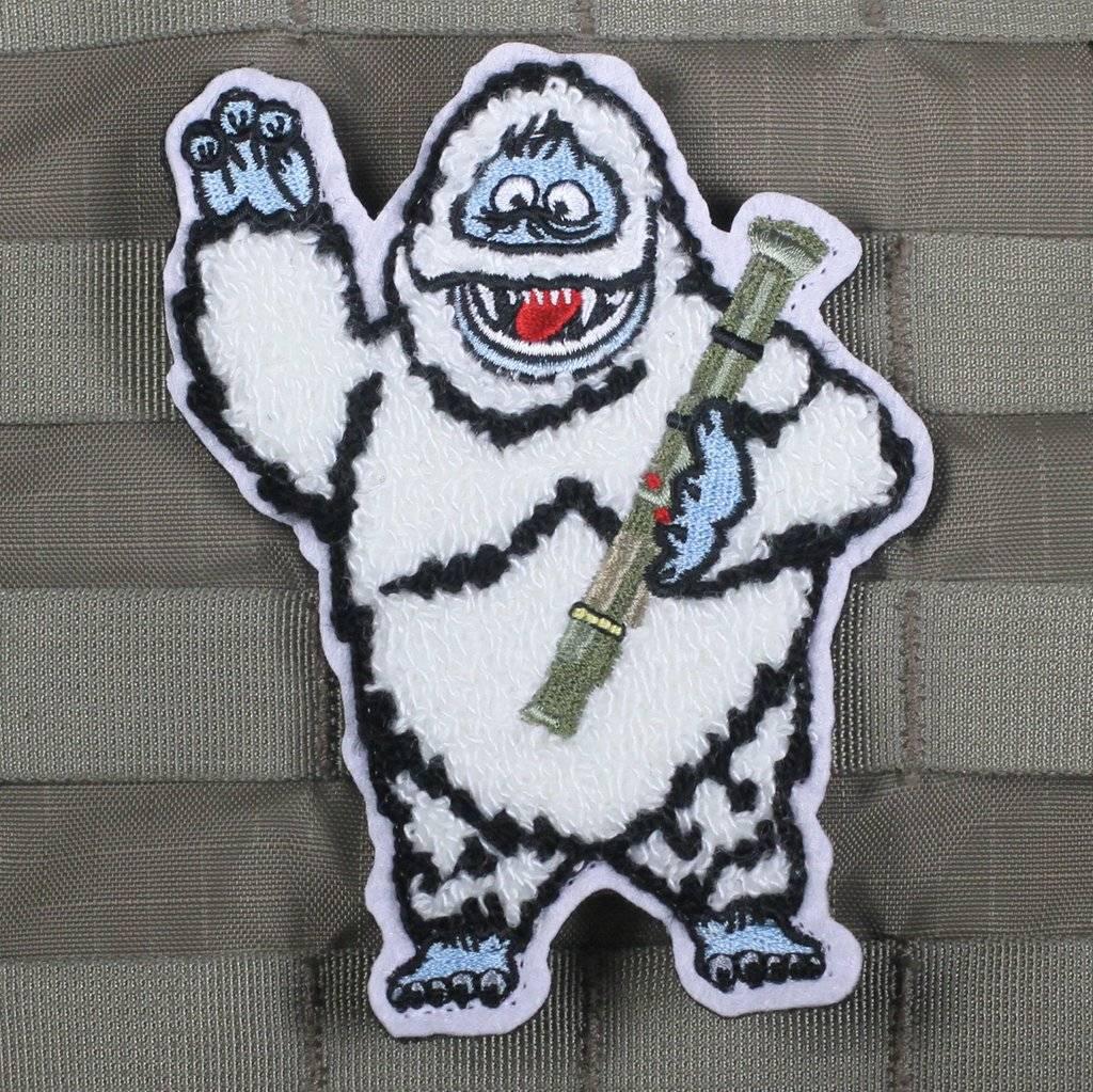 Violent Little Machine Shop Violent Little Machine Shop Bumble The Abominable Snow Monster Morale Patch